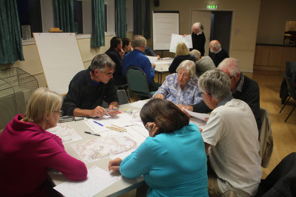 Public meeting at Eastcombe September 2019