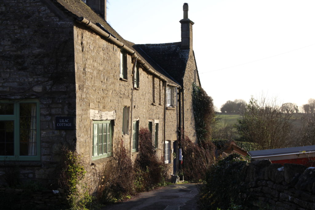A typical cottage in the parish.